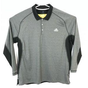 Adidas climacool long sleeve Henley